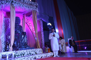 estatua Swami en Baghola